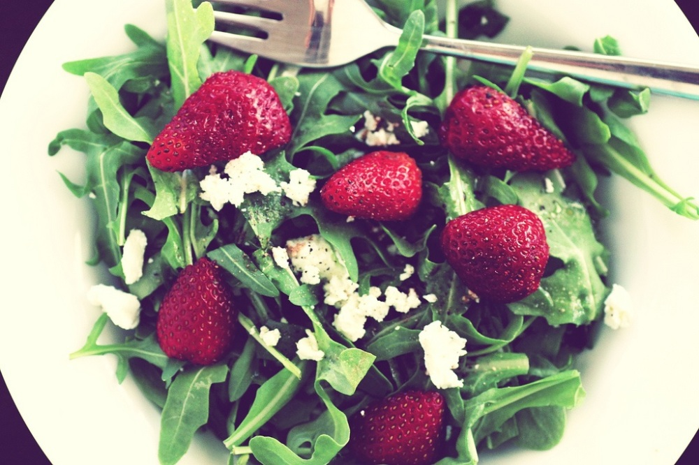Rocket and Strawberry